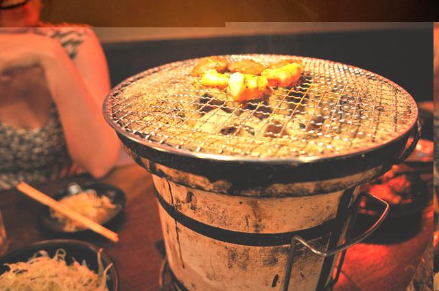 Grill On Shichirin 171 Tokyo Photo Japan